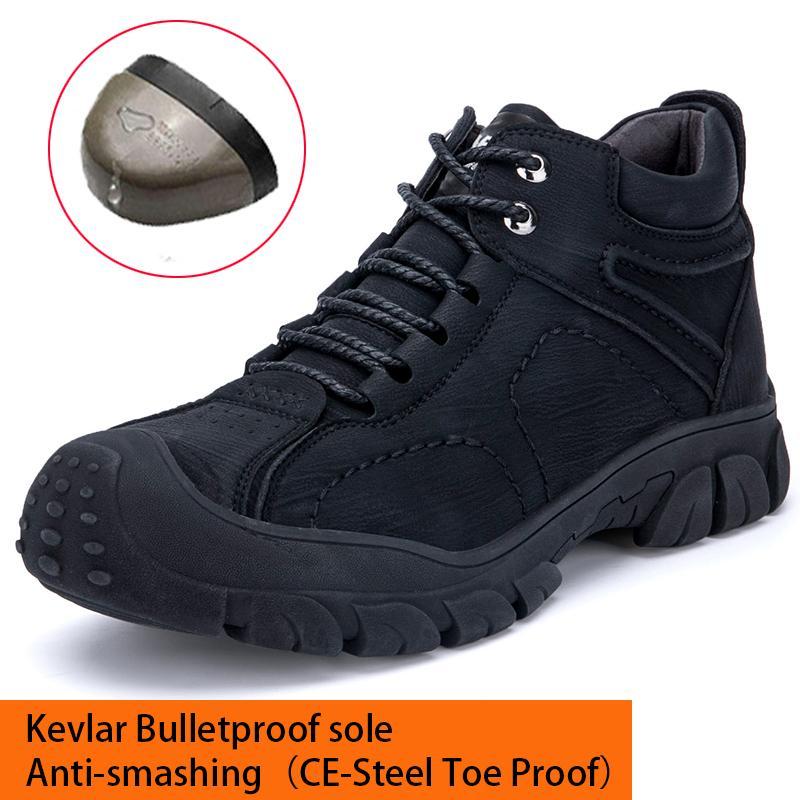 Männer Winter Safety Schuhe Halten Warme Arbeitsschuhe Wasserdichte Stichbeweis Atmungsaktive Männer Frauen Stahl Zehen Schuhe Stiefel