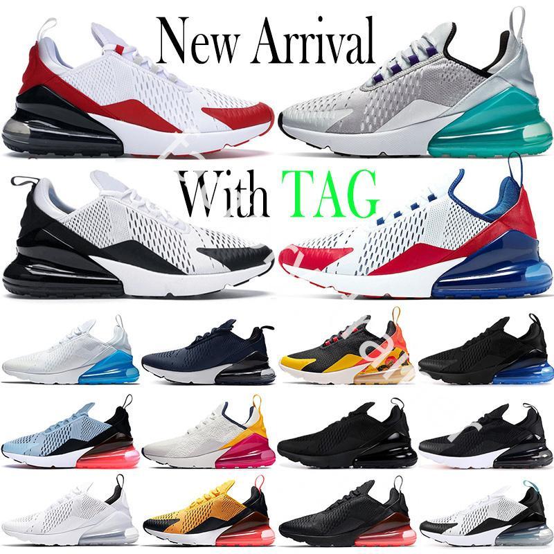 2021 쿠션 270 factory_trainer 남성용 운동화 Platinum Jade Triple Black White Rainbow 270s Sport USA Photo Blue 27c Trainers Sneakers