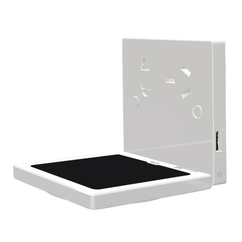 Smart Power Plugs Top Block Socket Multi-funzione Charging wireless Dual Dual Pannelli da parete USB adatti per uffici, caffè, cinema, ristoranti