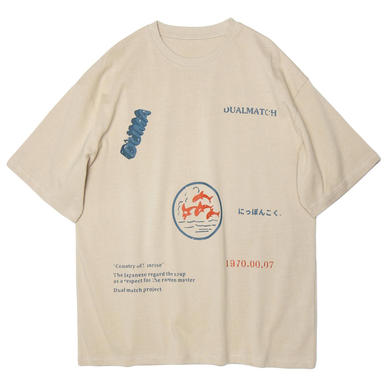 Vintage 2021 Nouvelle lettre imprimée T-shirts Hommes Streetwear Streetwear Summer Harajuku Tops en vrac Tops Tees Short Shirt Hawaiian Homme Mens FNZF