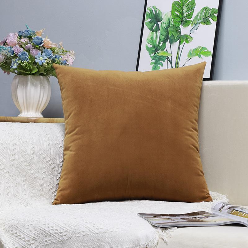 X140 Küçük Taze Kucaklama Yastık Dikey Şerit Süet Yastık Örtüsü Ev Eşyaları Hug Yastık Katı Renk Yastık ASDF Kapakları