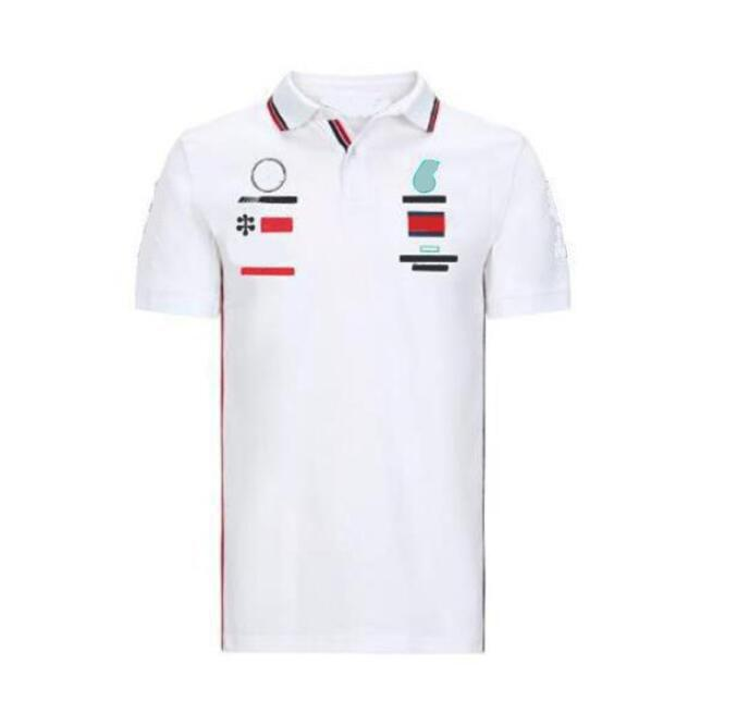 Nueva camiseta de carreras de F1 camiseta del fan de la camisa de la motocicleta montando shortsleeved Motocicleta de verano transpirable y polo Quickdrying