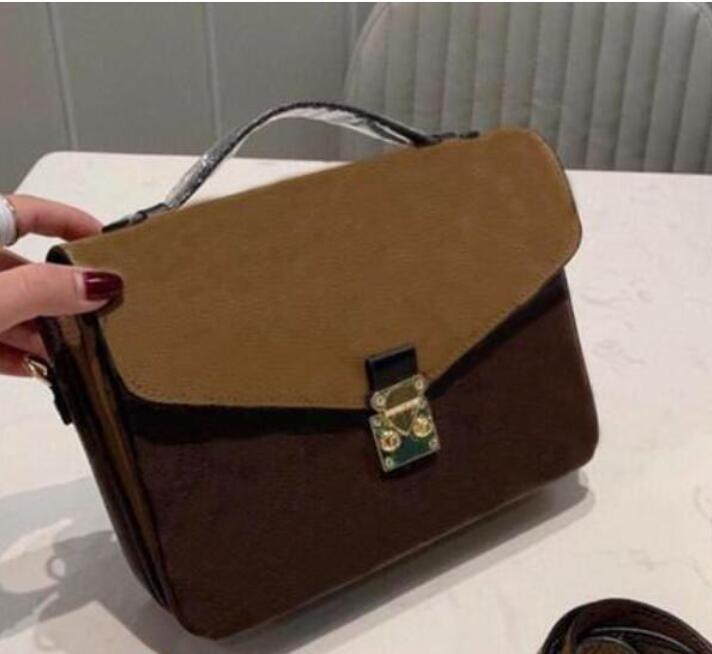 Designer Luxurys Taschen Crossbody Bag 2021 Handtasche Messenger Crossbody Oxidierende Ledertaschen Elegant Schulter Tote Metis Bag Shopping W WESR