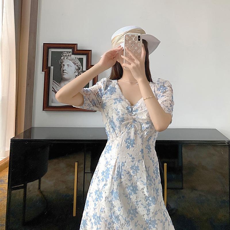 Юбка Lady Super Fairy Mori Женский 2021 Новый Цветочный Французский Сладкий Мода Ретро Первая Любовь Skirtsea4