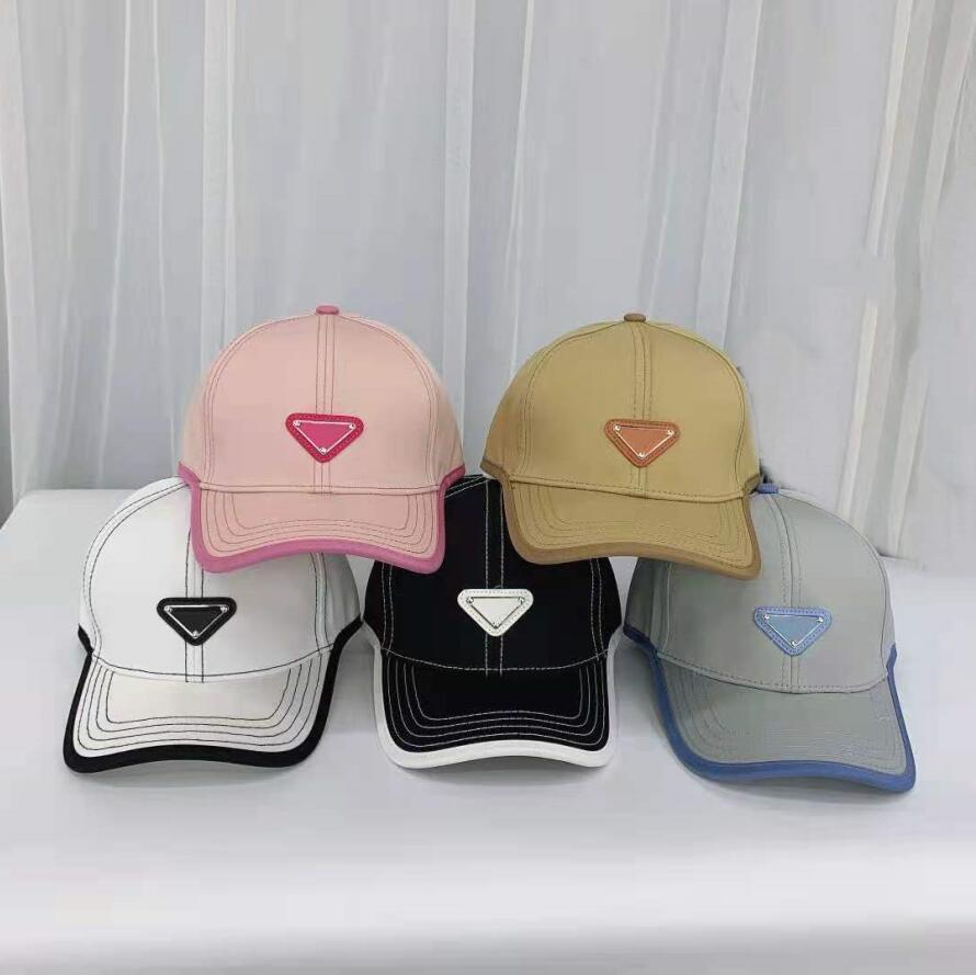 2021 Designer Leinwandkappe Männer Frauen Baseball Hüte Outdoor Sport Klassischer Brief Hut Europäischen Stil Sommerkappen