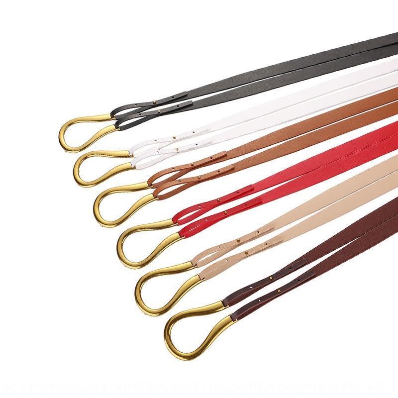 LKGYR Nouveau Net RedSame Cuir Grand Horseshoe avec une ceinture décorative Nouvelle ceinture de style Ceinture de style Filet RedSame Style avec L
