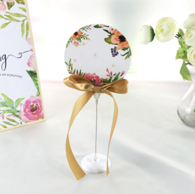 Party Decoration 10pcs Green, Pink, Red, Beige, Blue, Purple Wedding Favors Table Place Card Holder With Round Cards