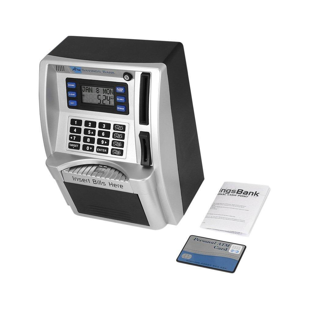ABS atm الادخار البنك اللعب الاطفال يتحدث الصراف الآلي البنوك إدراج الفواتير مثالية للأطفال هدية الخاصة امتلاك النقود الشخصية إسقاط الشحن 201125
