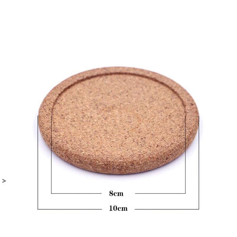 Tapis de gorge minimaliste moderne Coussin en bois Coussin circulaire Polissage de liège Coussin d'isolation à liège Tapis Tapis OWA6184