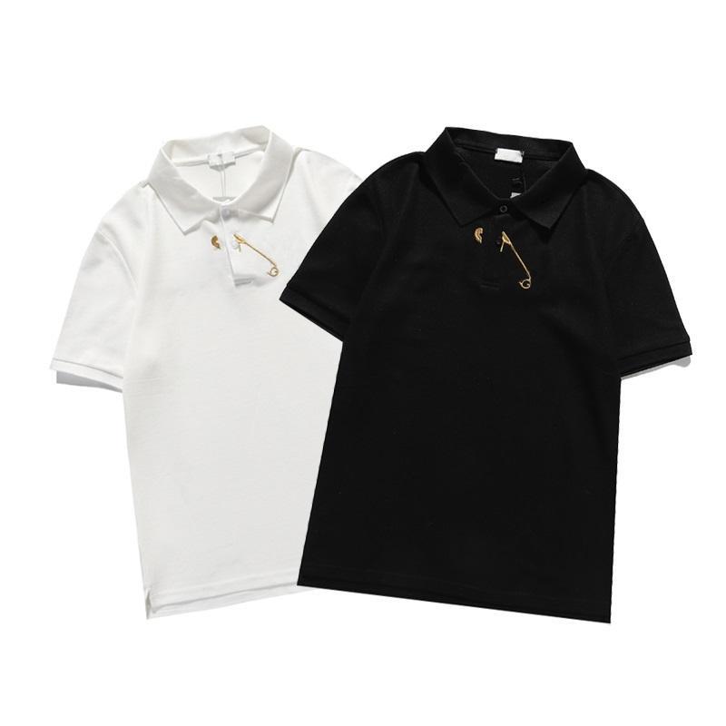 21s spring teeer t shirt camiseta polo camisas high street bordado liga cobras pequenas abelha impressão vestuário homens