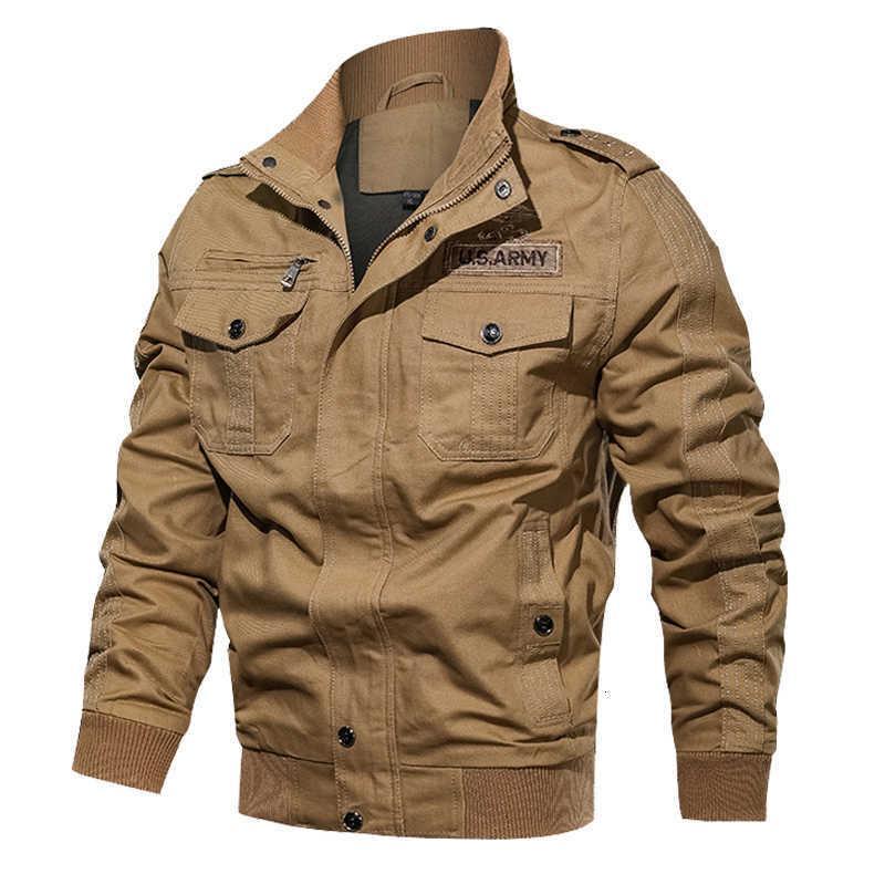Veste de bombardier pour hommes Coton décontracté Within Outwear Manteau de l'armée Veste de vol Tactique Automne Hiver Cargo Vestes Plus Taille 6XL