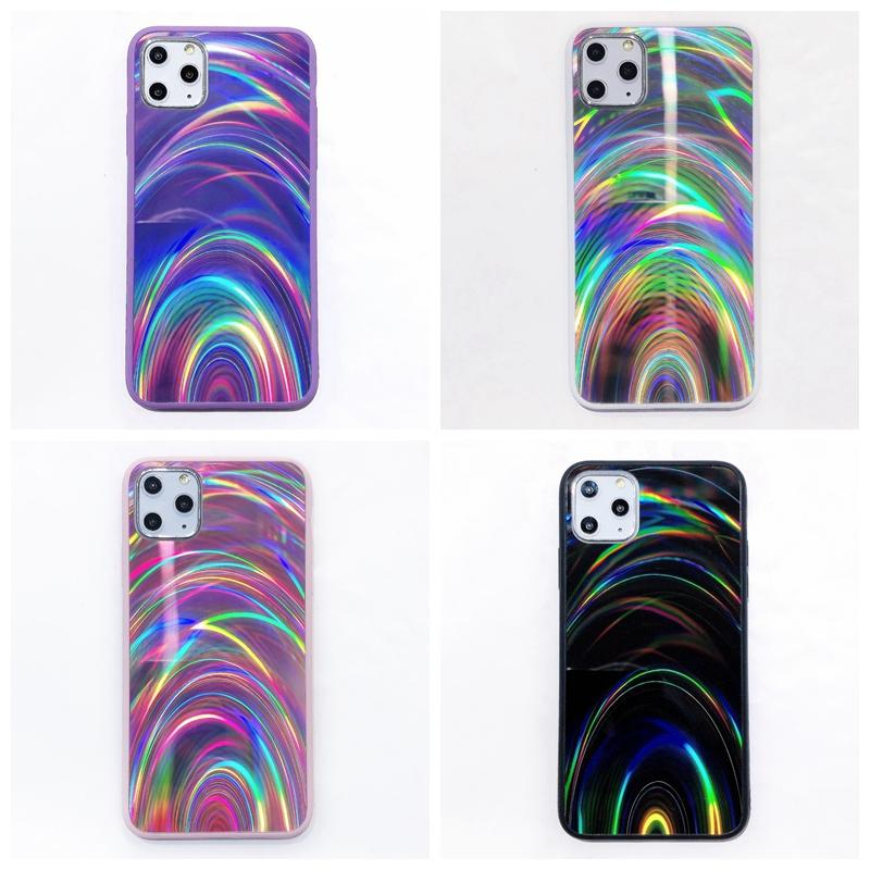 Aurora Colorful Bling Rainbow Crystal Cases For Samsung S21 Ultra S20 Note 20 A81 A91 M31 A42 A21S A41 A31 A21 A51 A71 Shinny Hybrid Hard PC Acrylic TPU Luxury Cover