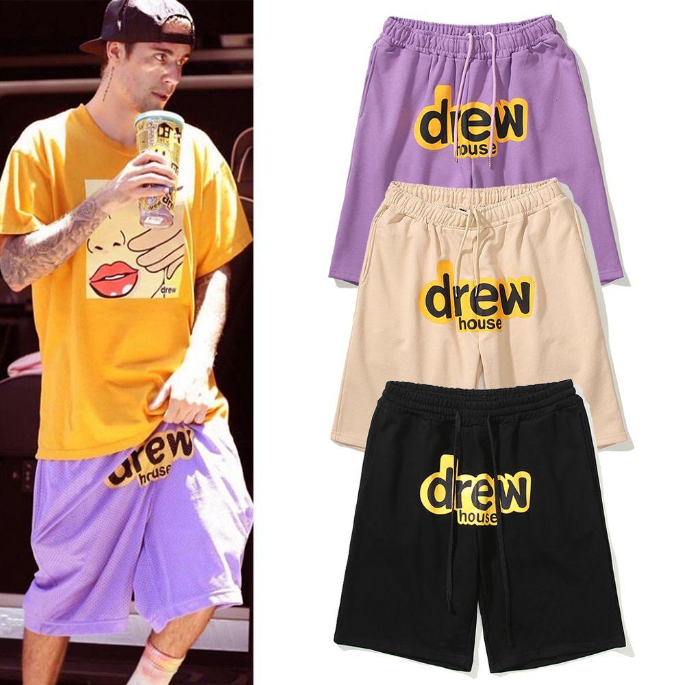 2021 Erkek Tasarımcı Ev Şort Pantolon Yüksek Sokak Pantolon Erkekler Kadınlar Yaz Spor Sweatpants Erkek Hip Hop Streetwear Erkek Giyim