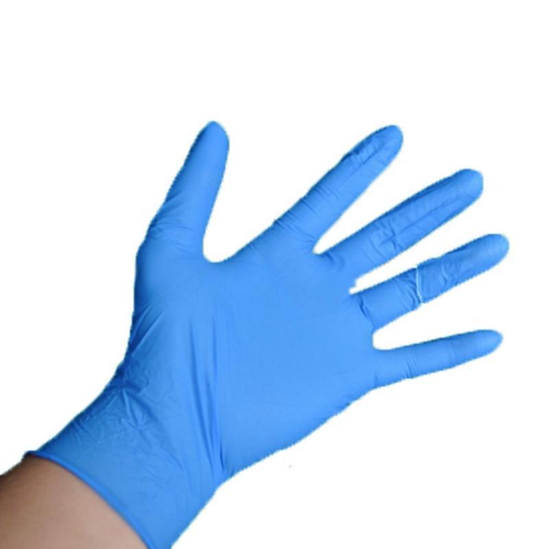 Gants jetables 1Pair Industrial Nitrile Latex résistant à l'usure durable Nettoyage des ménages anti-statique