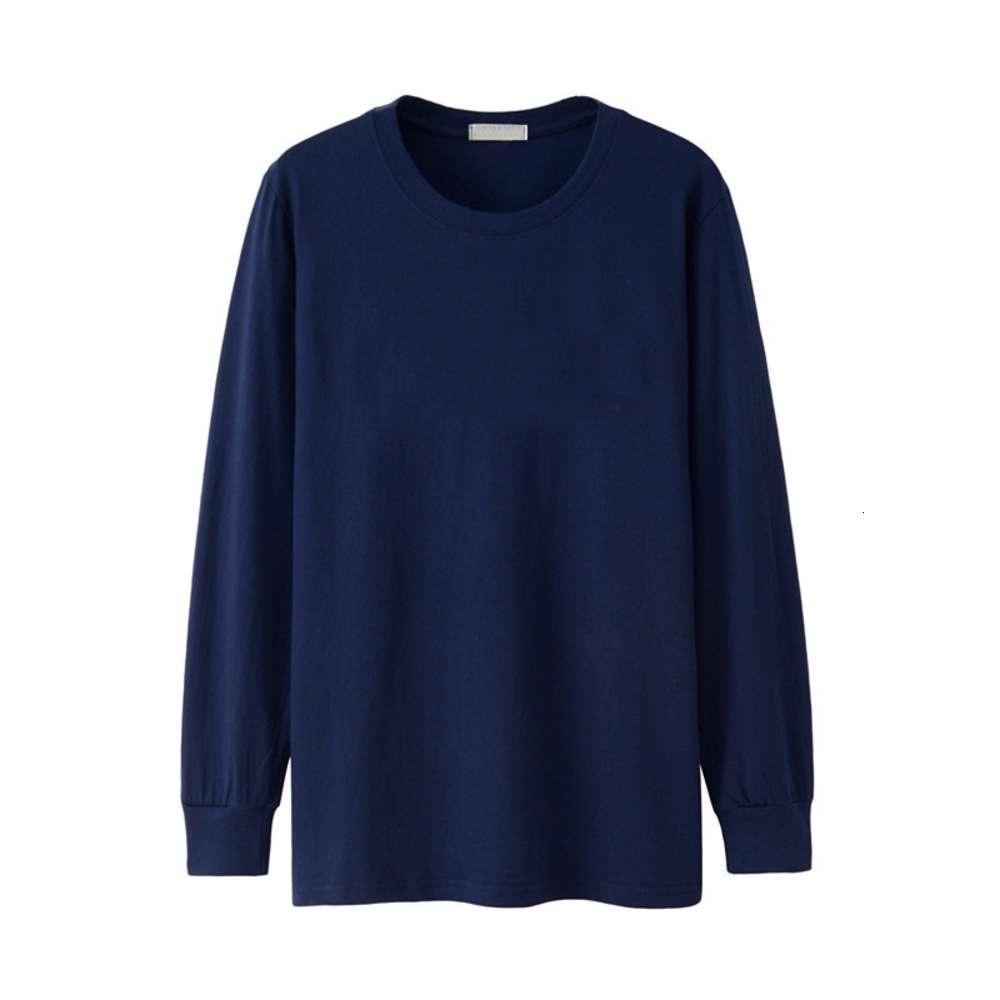 Hombres camiseta de manga larga de manga larga de otoño de invierno completo grande grande xxxxl 5xl 6xl casual liso camisetas de algodón masculino camiseta de gran tamaño