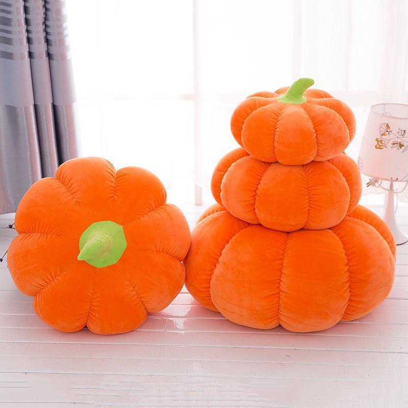 25cm 32cm Orange Cute Plush Toys Pumpkin Pillow Plush Toy High Quality Stuffed Soft Kids Plush Doll Halloween Gifts Wholesale