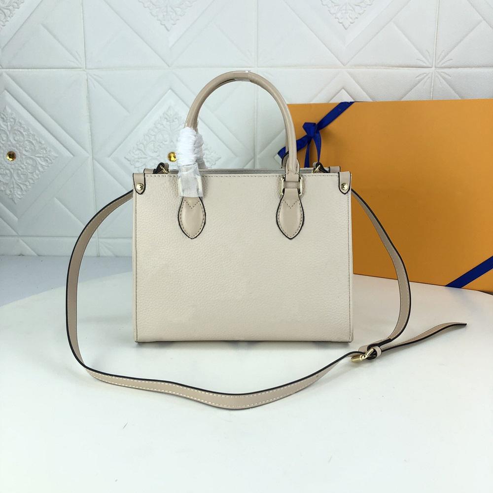 Fashion Bag Womens Totes Bags Top Classic Letter Impressão Bolsa 33cm Alta Qualidade Lady Bolsas Bolsa