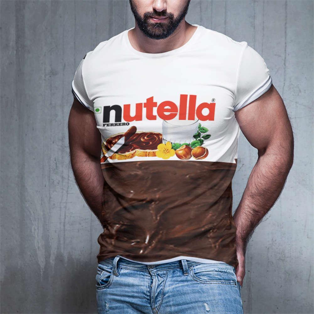 Sika cervos 3d impressão digital moda homens redondo pescoço de manga curta t-shirt