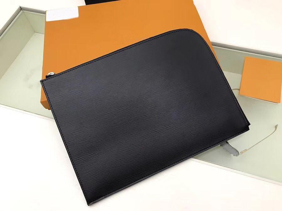 M80044 Pochette Jour GM N64437 Designer Mens Clutch Reisehülse Laptop Tablet File Dokumentinhaber Portfolio Case Cover Bag Accessoires PM