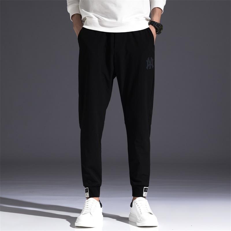 Мужская одежда Корейский повседневная весна и осень 2021 Trend Удобные маленькие ноги охраны штанов