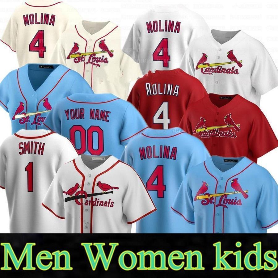 2020 Новые пользовательские мужчины Женщины дети 4 Ядер Молина 13 Мэтт Карпентер 46 Paul Goldschmidt 50 Адам Уэйнрайт кардинал бейсбол