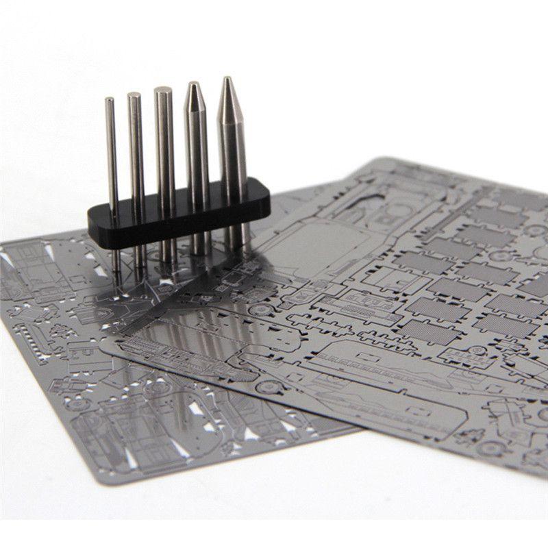 Новый палец рок 3D металлические головоломки монтажные инструменты Модели нержавеющие стальные палочки круглые колонны многофункциональные инструменты L0226