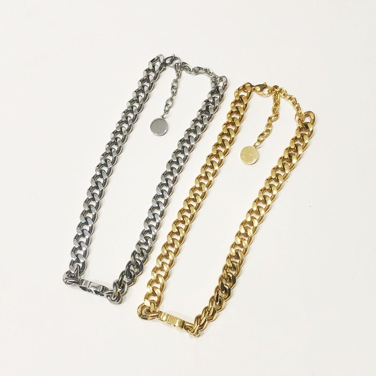 Designer di lusso Gioielli Donne Choker Catene cubane Collane con pendente in oro Lettera e braccialetti Abiti in argento in acciaio inox materiale stile moda stile