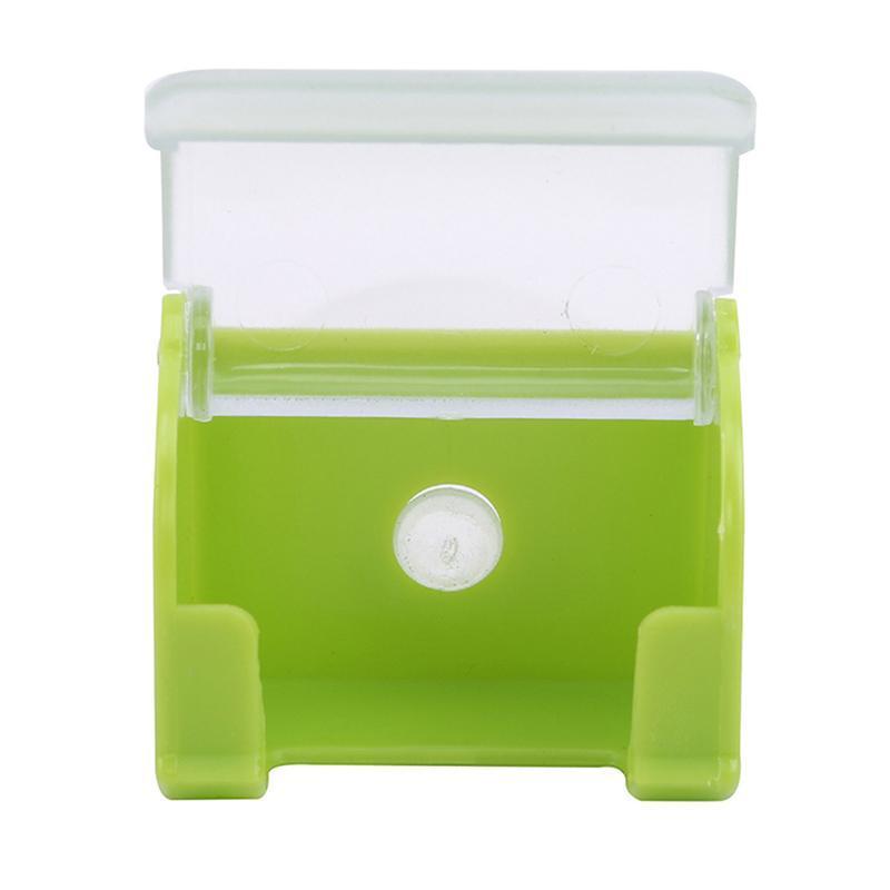 مطبخ تخزين المنظمة شفط كأس البلاستيك الحلاقة حامل مربع الرجال ماكينة حلاقة الجرف الغبار الحلاقة جدار الخيالة مجموعة كاب الرف si