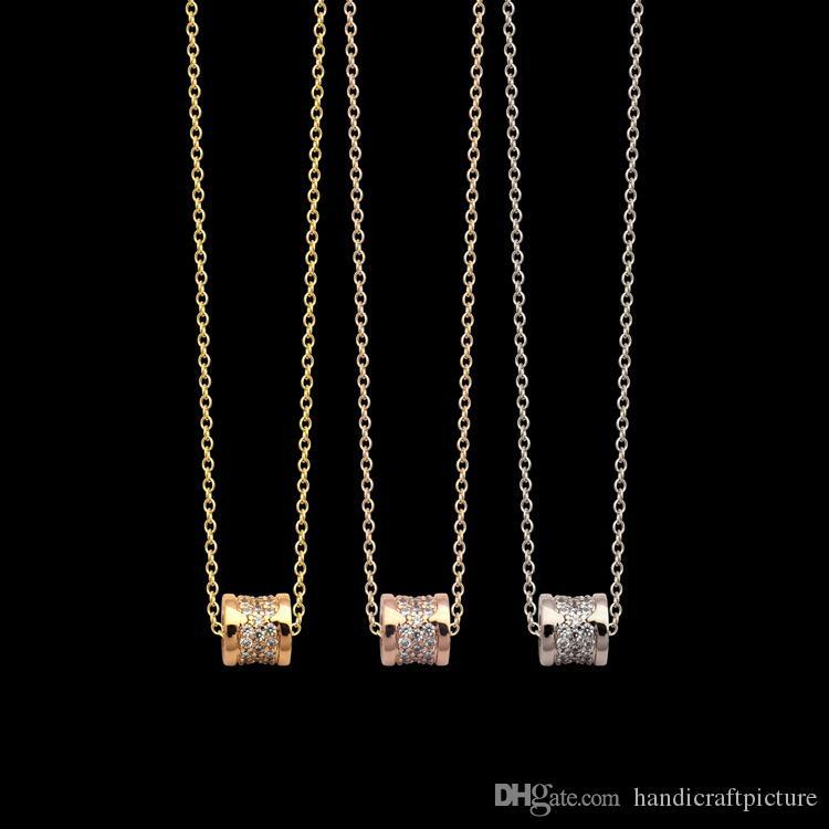 Designer di lusso Gioielli Donna Ciondolo Gold Collana Designer Collana Designer Small Size Piccola Vita Stelle Signora Collana