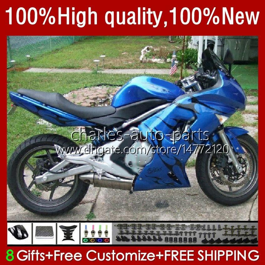 OEM Bodywork para Kawasaki Ninja ER 6 F 2006-2008 ER6 F 650 R 650R 06-08 CUERPO 6NO.82 650R-ER6F ER-6F ER 6F 2006 2007 2008 650-R ER6F 06 07 08 Ferias de motocicletas Black Black