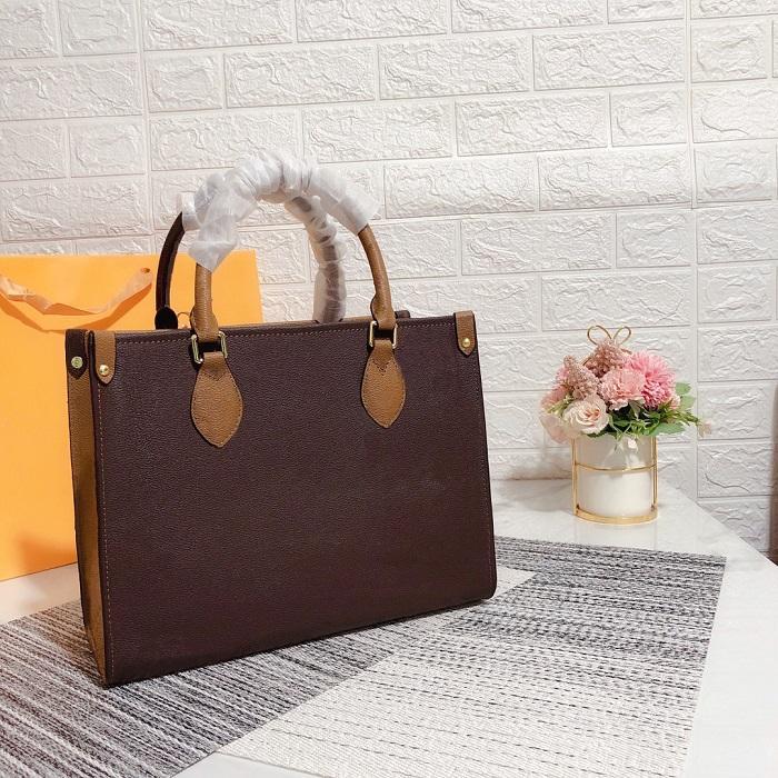 Moda Feminina Totes Bolsas Top Classic Letter Impressão Lady Bag Casual Outdoor Capacidade Alta Qualidade Mulheres Mulheres Bolsa