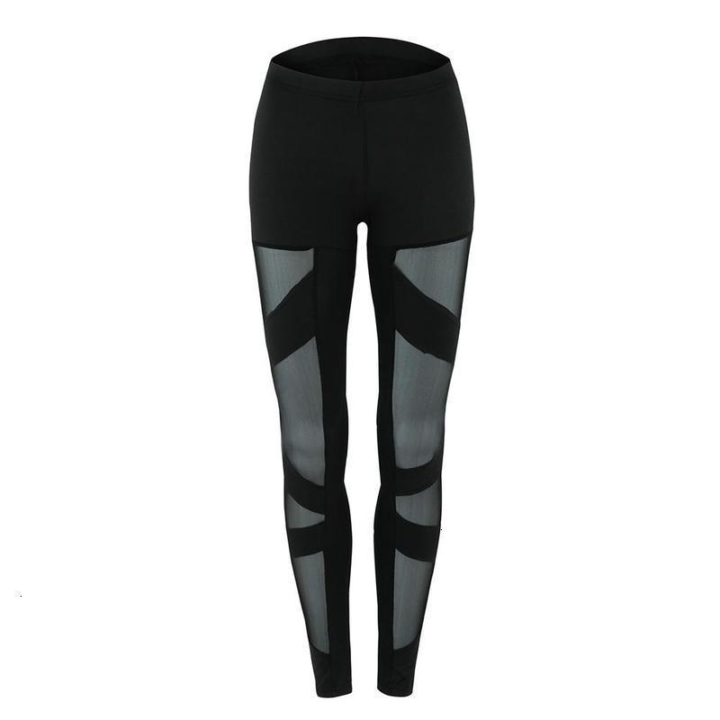 Donne sexy High Tail Grid Yoga Panty Fitness Fitness in esecuzione palestra stretching leggings Broek