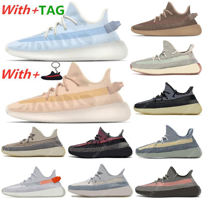 2021 Mono Ice sneakers casual shoes Clay Mist Black Ash Blue Pearl Stone Belgua Cinder Zebra Yecheil Static sports mens Trainers EUR 36-47