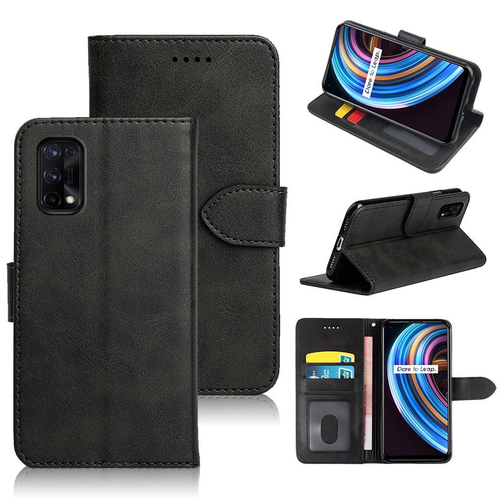Hebilla magnética Flip Funda de cuero para OPPO Realme X7 Titular de la tarjeta MULTI Casos para teléfono para OPPO Realme X7 Funda