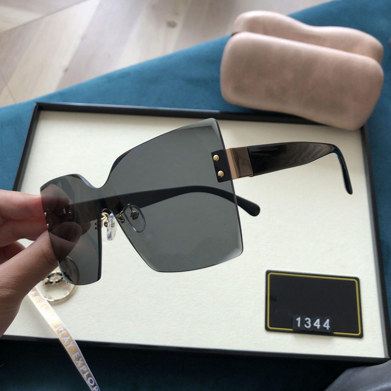 2021 Corpo super Dalian cobrindo óculos fabulosos escudo óculos de sol cópias em óculos de sol 1344 / sg / s espelho protetor de raio X