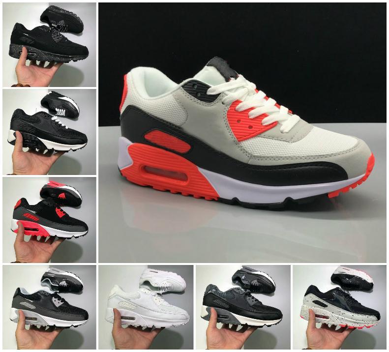 2021 جديد 90s الاحذية أحذية رخيصة 90 الرجال النساء أسود أبيض الأشعة تحت الحمراء recraft الملكي دنهام في الهواء الطلق المدربين رياضة المصممين الكلاسيكية