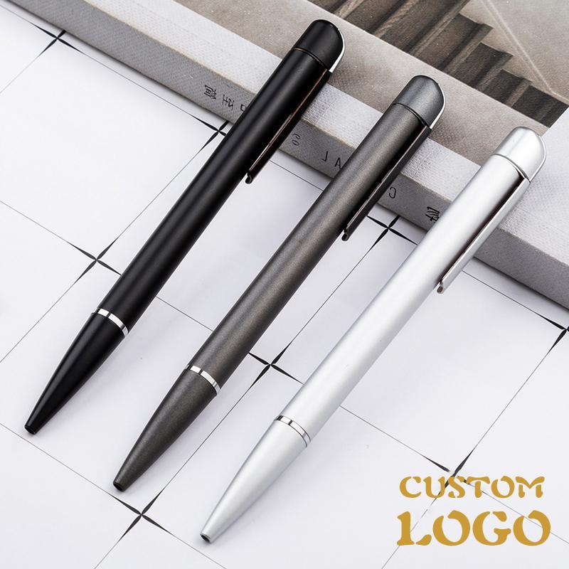 Ballpoint Pens Craycat Metal Pen 0.5mm Black Luxury Custom Advertising Gift For School Student Stationery Office Supplies