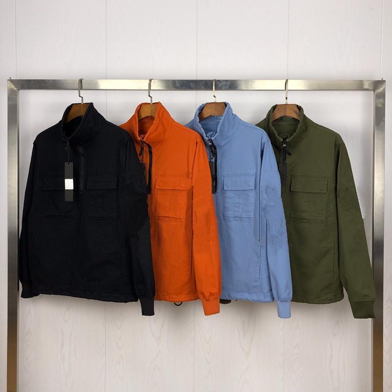 CPTOPSTONEY 2020SS 봄과 가을 유럽 및 미국 스타일 절반 지퍼 Konng 공 캐주얼 재킷 트렌디 한 브랜드 트렌드 코트