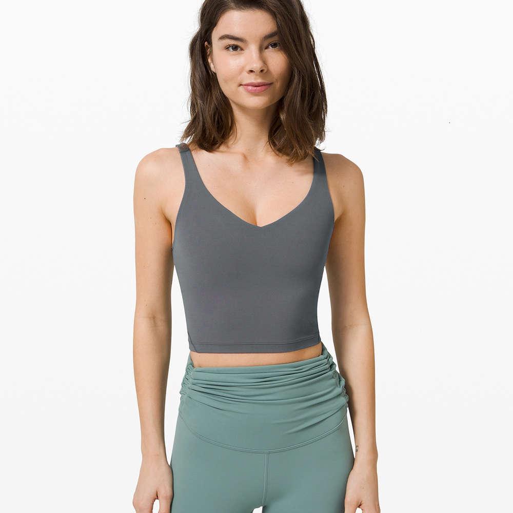 Новые двойные плечевые полосы сексуальное спортивное нижнее белье Женские набранные дышащие расширенные поют спортивный бюстгальтер жилет