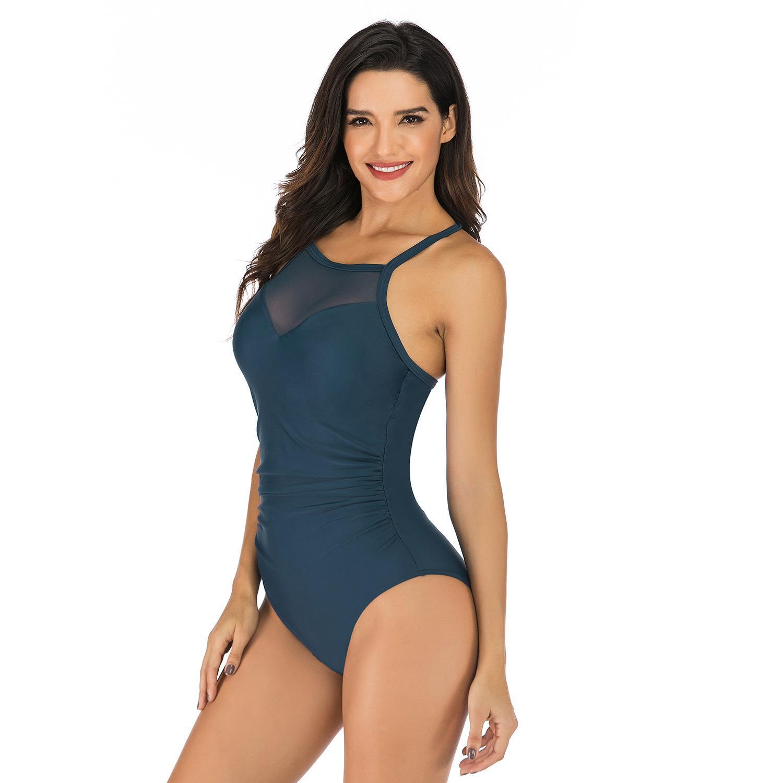 113 gedruckte Set Sexy Swimwear Frauen 2021 Mujer Push Up Gepolsterte Biquini-Badezeile Bandage Badeanzug Badeanzug Bikini