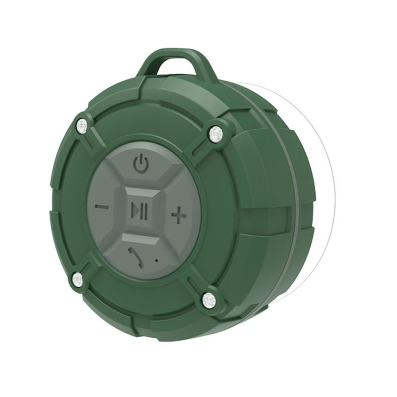 2020 Duş Hoparlör IPX7 Su Geçirmez Bluetooth Mini Hoparlör, Çıkarılabilir Vantuz, Açık Plaj Yüzme için Hands-Free Banyo Hoparlör