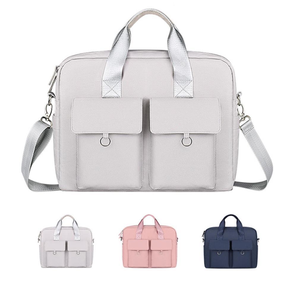 Computer Laptop Bag 13.3/14/15.6 Inch Waterproof Notebook Bag for Macbook Air Pro Shoulder Handbag Briefcase Bag