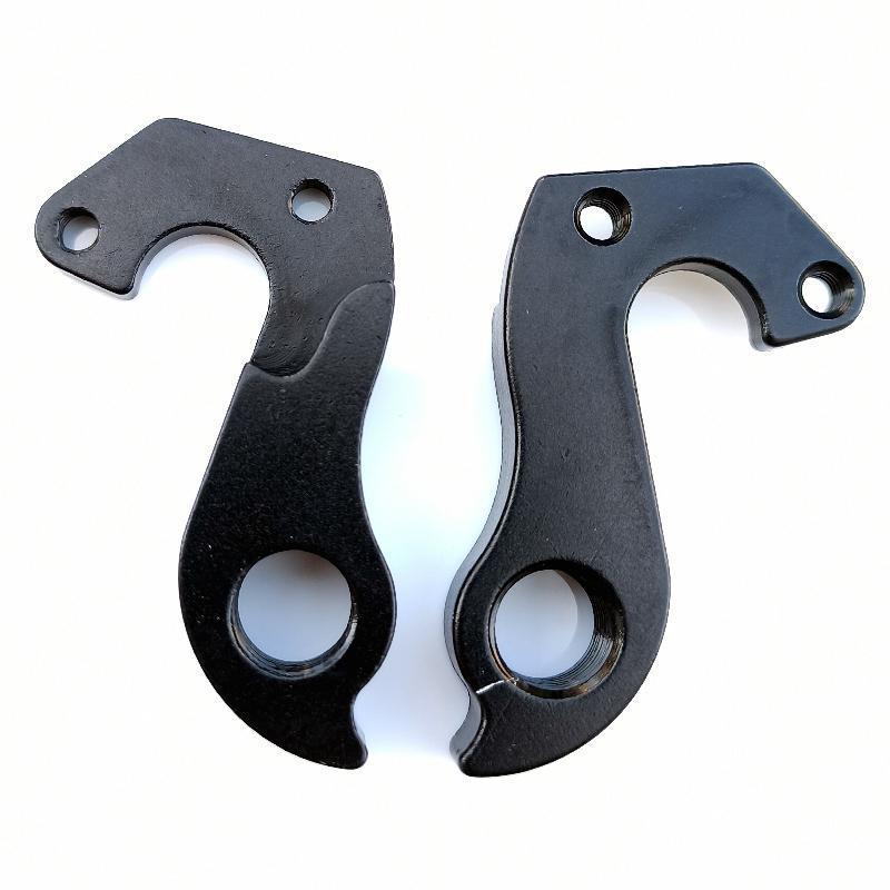 Bike Derailleurs 2pcs CNC Bicycle Parts MECH Dropout For Twitter Rear Gear Derailleur Hanger Carbon Frame Accessories Hook Saver