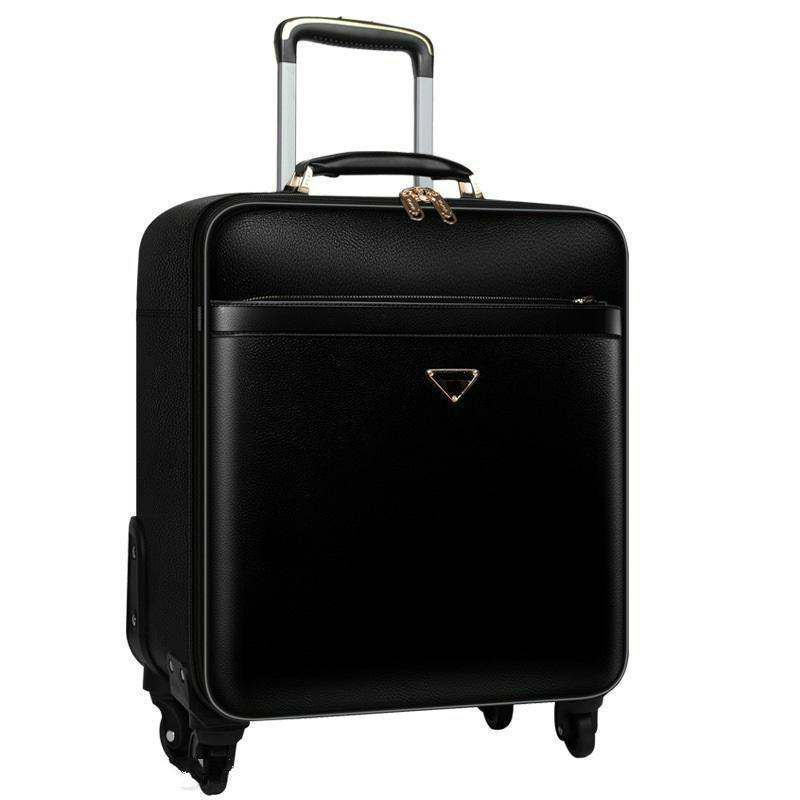 Luxury Suitcase Designer in metallo bagaglio in lega di alluminio carry-onsrolling lugthicker business viaggio bagagli boarding boarding valigia