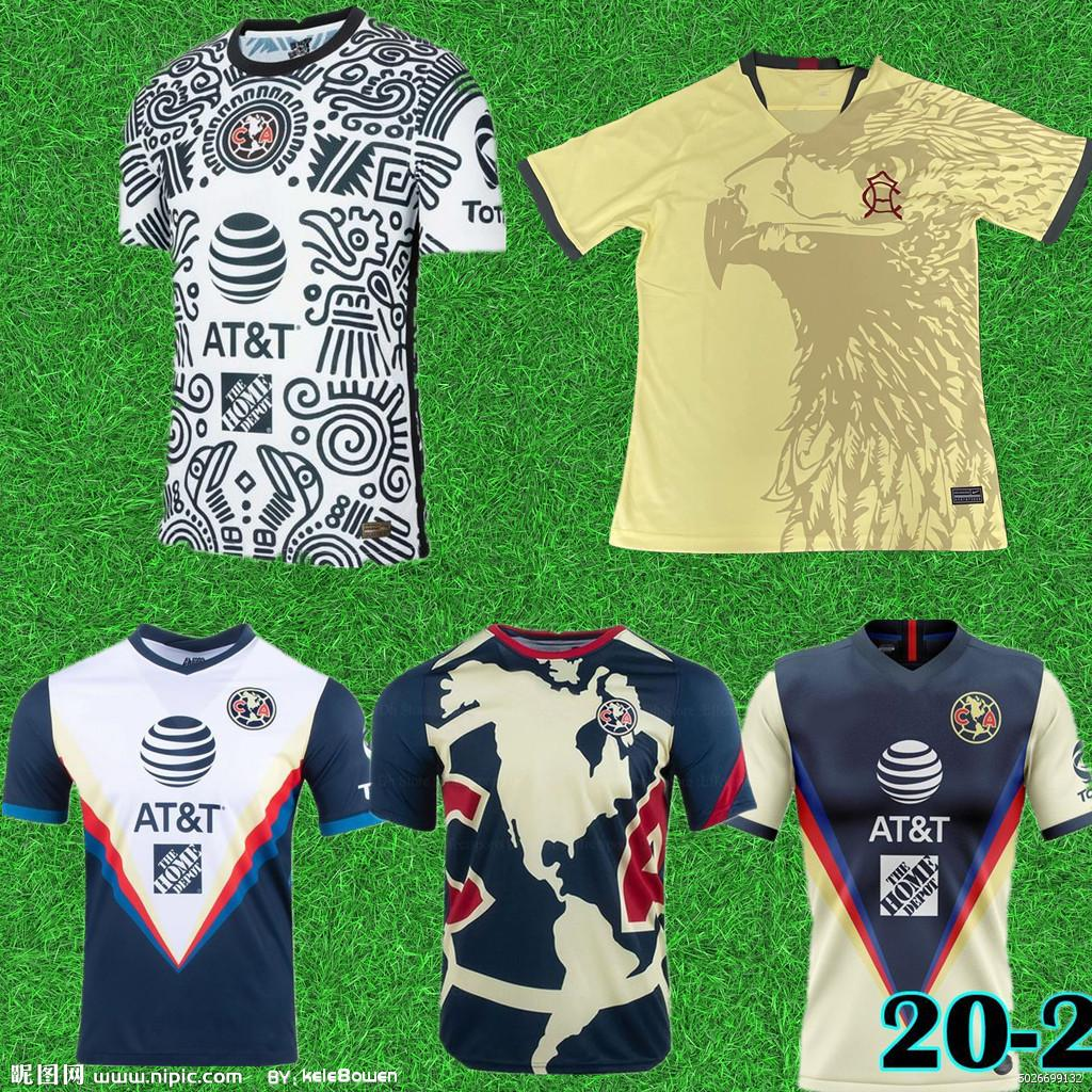 Homens 2021 Liga MX Club América Terceira Jerseys 2021 Giovani Castillo América 3ª Camisa de Futebol Kit Camiseta de Futbol Men Kit Personalizado Ma