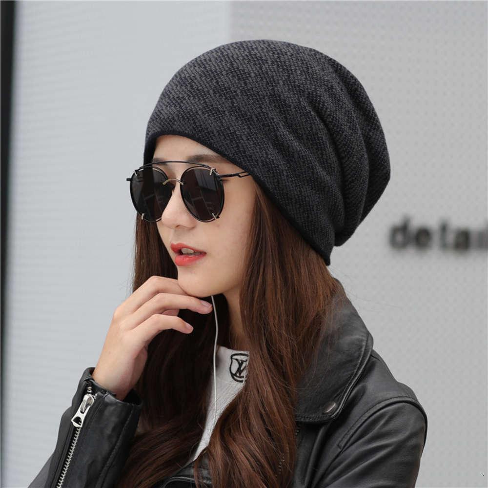 Осень зима вязаные универсальные мужчины Женщины Генеральные любовники Baotou Корейский теплый и холодный достойный шерстяной шляпа женской моды