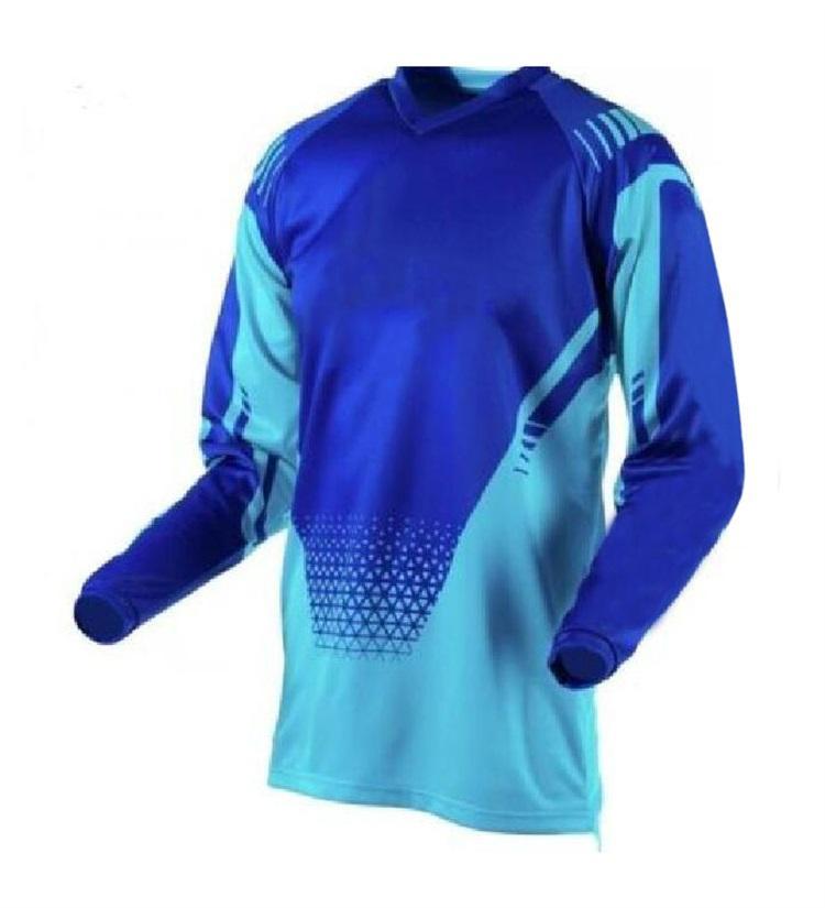 NOUVEAU Style Downhill Jersey Summer Jersey Homme Jersey Outdoor Binct-Road T-shirt à manches longues peut être personnalisé