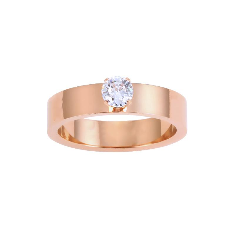 Love Ring With A diamond for men and women Luxury Designer Band Rings Top Gift Width 5mm Size 5-11