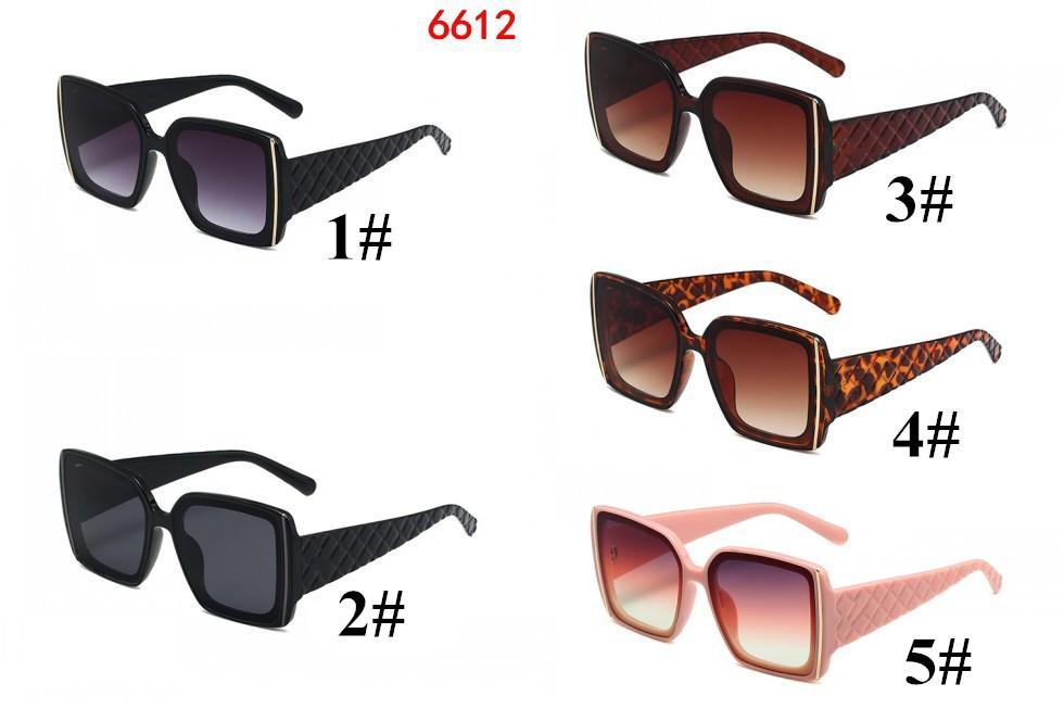 Promotion Square Designer Sonnenbrillen für Frauen Mode UV400 Sommer Street Strand Stile Schwarz Rosa Rahmen Top Qualität 5 Farben 10 stücke Fabrikpreis Schnelles Schiff