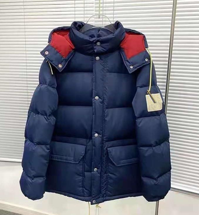 Herren Daunenjacke Parkas Mäntel Winter mit Kapuze Top Qualität Unisex Casual Outdoor-Feder-Outwear Halten Sie warme Mantel